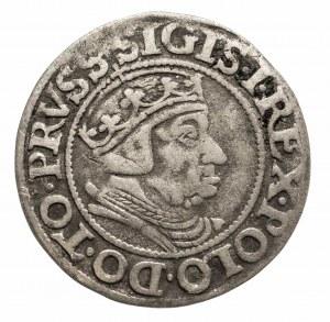 Polska, Zygmunt I Stary 1506-1548, grosz 1538, Gdańsk.