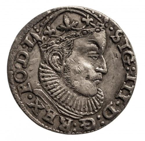 Polska, Zygmunt III Waza 1587-1632, trojak 1589, Ryga.