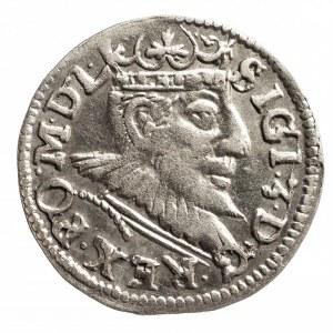 Polska, Zygmunt III Waza 1587-1632, trojak 1593, Poznań.