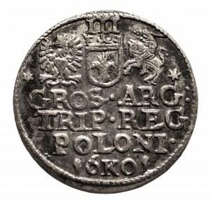 Polska, Zygmunt III Waza 1587-1632, trojak 1601, Kraków.