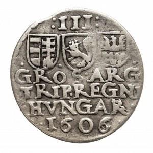 Węgry, Siedmiogród, Stefan Bocskai (1604–1606), trojak 1606.