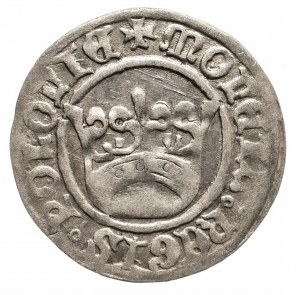 Polska, Aleksander Jagiellończyk 1501–1506, półgrosz koronny bez daty, Kraków