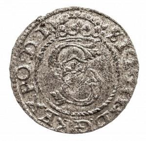 Polska, Zygmunt III Waza 1587-1632, szeląg 1595, Ryga