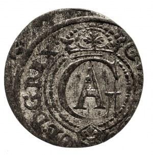 Szwecja, Ryga - miasto, Gustaw II Adolf 1621-1632, szeląg 1621, Ryga