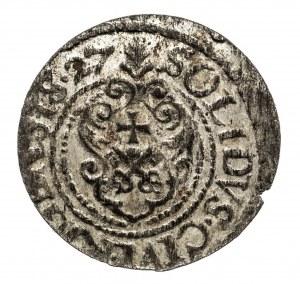 Szwecja, Ryga - miasto, Gustaw II Adolf 1621-1632, szeląg 1627, Ryga