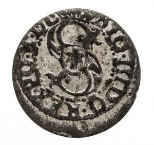 Polska, Zygmunt III Waza 1587-1632, szeląg 1618, Ryga