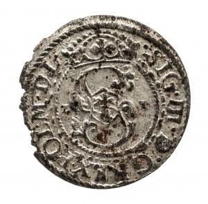 Polska, Zygmunt III Waza 1587-1632, szeląg 1621, Ryga