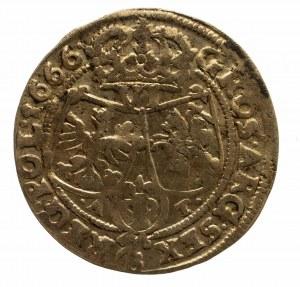 Polska, Jan II Kazimierz Waza (1649–1668), szóstak 1666 AT, Bydgoszcz