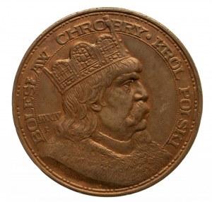 Medal 900-lecie koronacji Bolesława Chrobrego 1924 r.
