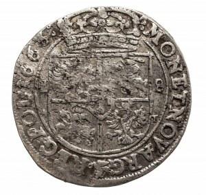 Polska, Jan II Kazimierz Waza 1649-1668, ort 1663 A T, Kraków.