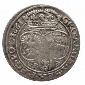 Polska, Jan II Kazimierz Waza 1649-1668, szóstak 1661 GB A, Lwów.
