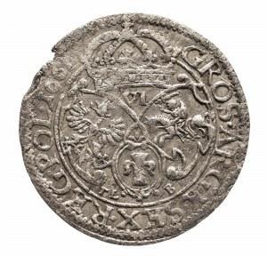 Polska, Jan II Kazimierz Waza 1649-1668, szóstak 1661 TL B, Kraków.