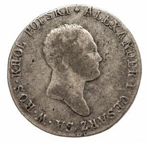 Królestwo Polskie, Aleksander I 1815-1825, 2 złote 1817, Warszawa.