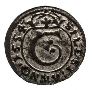 Śląsk, Księstwo Cieszyńskie, Ferdynand IV (1653–1654), obol 1654, Cieszyn.