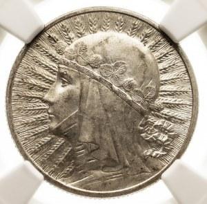 Polska, II Rzeczpospolita 1918-1939, 2 złote 1934 Polonia, Warszawa NGC MS 61.