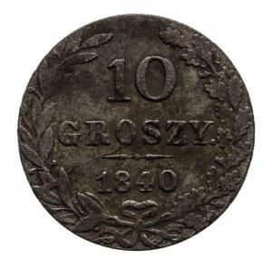 Polska, Zabór rosyjski, Mikołaj I 1825–1855, 5 groszy, 1840 MW, Warszawa, kropka po
