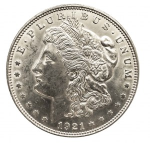 Stany Zjednoczone Ameryki, Morgan dolar 1921, Filadelfia