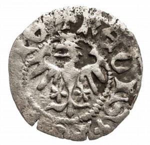 Polska, Władysław Jagiełło (1386–1434), półgrosz koronny 1408–1410, Kraków