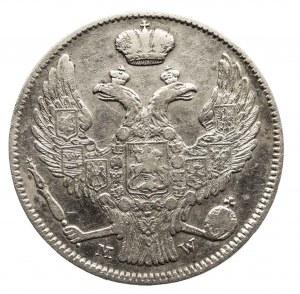 Polska, Zabór rosyjski, Mikołaj I 1826-1855, 2 złote / 30 kopiejek 1838 MW, Warszawa