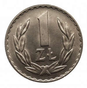 Polska, PRL 1944-1989, 1 złoty 1949 miedzionikiel