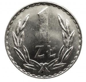 Polska, PRL 1944-1989, 1 złoty 1980