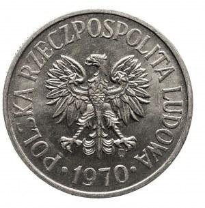 Polska, PRL 1944-1989, 50 groszy 1970