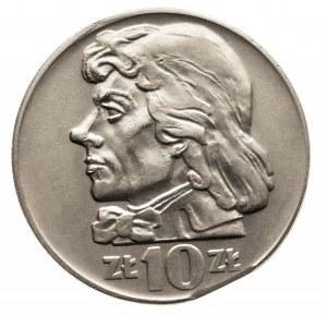 Polska, PRL 1944-1989, 10 złotych 1960 - destrukt