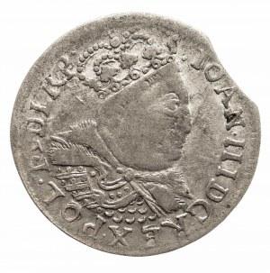 Polska, Jan III Sobieski 1674–1696, szóstak 1684, Kraków,