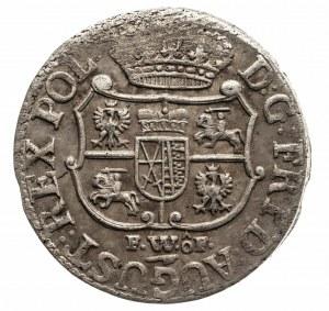 Polska, August III Sas 1733-1763, 1/12 talara 1750 FWôF, Drezno