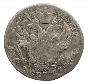 Królestwo Polskie, Aleksander I 1815-1825, 2 złote 1816 I.B., Warszawa