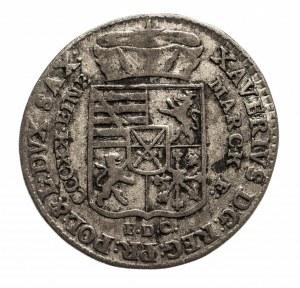 Polska, Ksawery (1764–1768) - jako administrator, 1/24 talara (grosz) 1764 E.D.C., Drezno