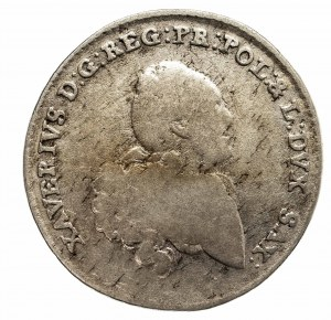 Polska, Ksawery 1764–1768 - jako administrator, 1/6 talara 1764, Drezno