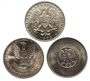 Polska, PRL 1944-1989, zestaw dziesięciozłotówek pamiątkowych - PEWEX