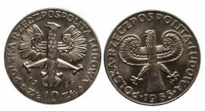 Polska, PRL 1944-1989, zestaw monet dzisięciozłotowych - PEWEX