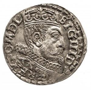 Polska, Zygmunt III Waza 1587-1632, trojak 1600, Poznań