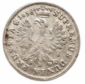 Niemcy, Prusy, Fryderyk III 1688-1701-1713, ort 1698, Królewiec
