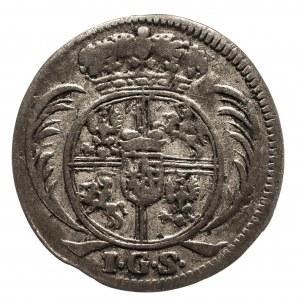 Polska, August II Mocny 1697–1733, 1/48 talara 1729 IGS, Drezno
