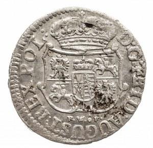Polska, August III Sas 1733–1763, 1/24 talara (grosz) 1752 FWôF, Drezno