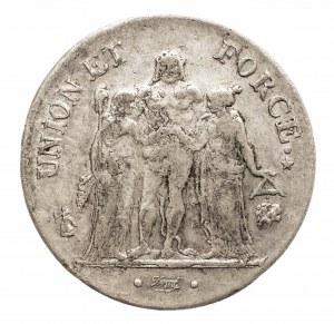 Francja, Konsulat 1799-1804, 5 franków L'an 9 (1801) L, Bayonne