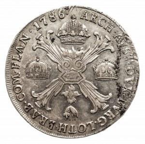 Austria, Józef II 1780-1790, talar 1786 M, Mediolan