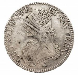 Francja, Ludwik XVI, Écu 1789 A, Paryż