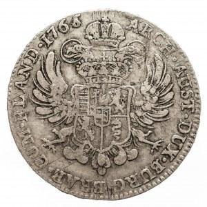 Austria, Niderlandy, Maria Teresa, talar 1765, Bruksela (1)