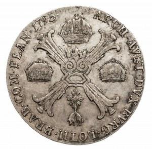 Austria, Niderlandy, Franciszek II, talar 1795 C, Praga (1)