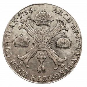 Austria, Niderlandy, Franciszek II, talar 1795 C, Praga (2)