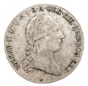 Austria, Niderlandy, Józef II, 1/2 talara 1788 A, Wiedeń