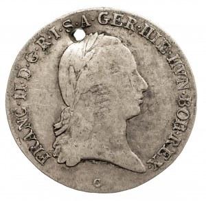 Austria, Niderlandy, Franciszek II, 1/2 talara 1795 C, Praga (2)