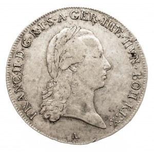 Austria, Niderlandy, Franciszek II, 1/2 talara 1795 A, Wiedeń