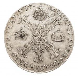 Austria, Niderlandy, Franciszek II, 1/2 talara 1797 C, Praga (1)