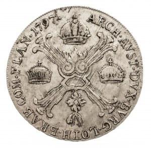 Austria, Niderlandy, Franciszek II, 1/2 talara 1797 C, Praga (2)