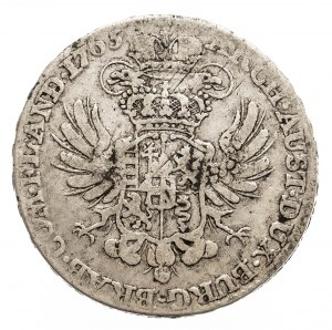 Austria, Niderlandy, Maria Teresa, 1/2 talara 1765, Bruksela